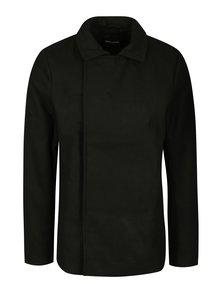 Černý kabát ONLY & SONS Palmer