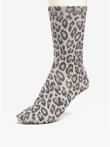 Šedé dámské vzorované ponožky Tommy Hilfiger