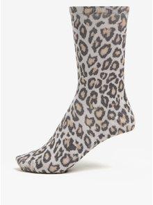 Sivé dámske vzorované ponožky Tommy Hilfiger