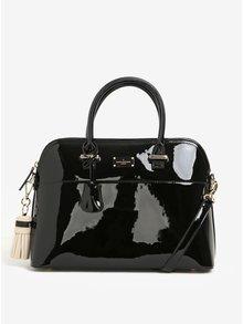 Černá lesklá kabelka do ruky Paul's Boutique Maisy