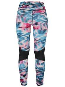 Colanti sport functionali turcoaz & roz cu buzunar - Roxy Stay On