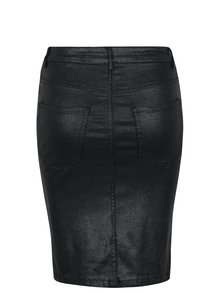 Čierna trblietavá puzdrová sukňa VERO MODA Mine