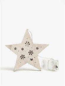 Závesná svietiaca dekorácia v tvare hviezdy Dakls