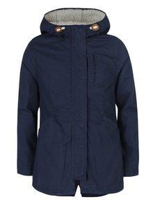 Tmavomodrá dievčenská bunda s kapucňou Roxy European