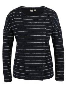 Bluza cu dungi alb & negru si nasturi - Roxy Dream Taste