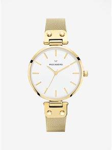 Dámské hodinky ve zlaté barvě s nerezovým páskem MOCKBERG Livia