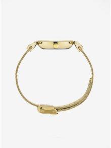 Ceas auriu cu curea din otel inoxidabil pentru femei - MOCKBERG Livia Petite