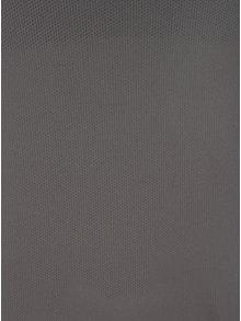 Tmavě šedé dámské tílko s všitou podprsenkou Roxy Chak Wak