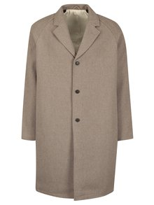 Béžový kabát s prímesou vlny SUIT Kendrick