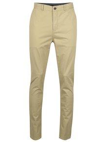 Pantaloni chino bej SUIT Frank