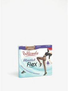 Telové inovatívne pančuchové nohavice s konštrukciou prispôsobenou telu Bellinda Absolut Flex 15 DEN