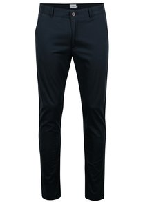 Tmavě modré chino kalhoty Farah Twill