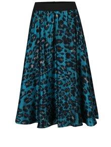 Tyrkysová hedvábná sukně NISSA