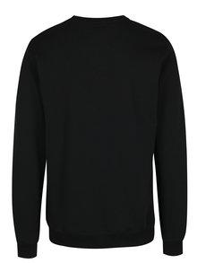 Pulover negru cu print Makia Port