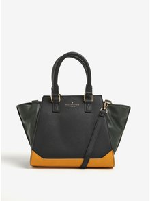 Zeleno-černá kabelka s neonovým vnitřkem Paul's Boutique Lana