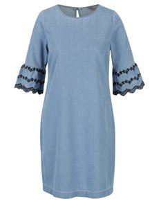 Světle modré džínové šaty s madeirou Dorothy Perkins