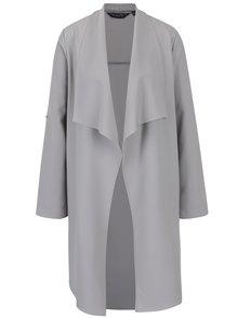 Šedý lehký kabát Dorothy Perkins