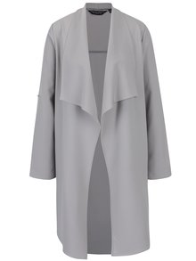 Sivý tenký kabát Dorothy Perkins