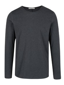 Bluza basic gri inchis Jack & Jones Perth