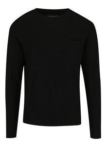 Černý pánský lehký svetr Casual Friday by Blend