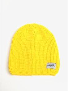 Žltá dámska zimná čiapka Horsefeathers Berta