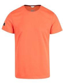 Neonově oranžové slim fit tričko Blend