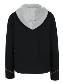 Čierne sako s odopínateľnou kapucňou ONLY Luna