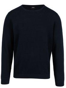 Tmavě modrý svetr Burton Menswear London