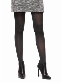 Tmavosivé pančuchové nohavice Oroblu Colette