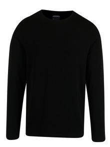 Bluza lejera basic neagra  - Burton Menswear London