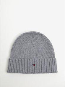 Sivá pánska čiapka Tommy Hilfiger