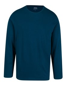 Bluza basic albastra regular fit pentru barbati - Burton Menswear London