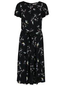 Rochie neagra cu print Billie & Blossom