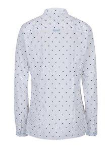 Biela dámska vzorovaná fitted fit košeľa Tommy Hilfiger