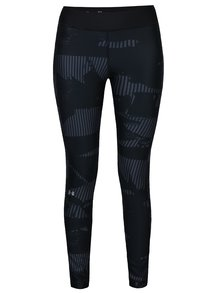Leggings negri cu print Under Armour Printed