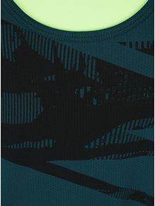 Zelené dámské funkční tílko s potiskem 2v1 Under Armour