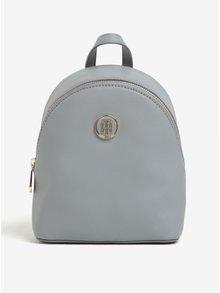 Svetlosivý dámsky malý batoh Tommy Hilfiger