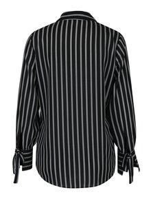 Čierno-biela pruhovaná košeľa Dorothy Perkins