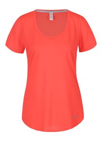 Neonově růžové dámské funkční tričko Under Armour Threadborne Streaker