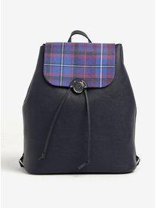 Tmavě modrý dámský batoh s oboustrannou klopou Tommy Hilfiger