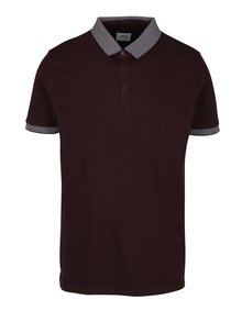 Tricou bordo polo cu model discret - Burton Menswear London