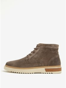Světle hnědé pánské semišové kotníkové boty GANT Jean