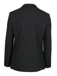 Tmavosivé oblekové sako Burton Menswear London