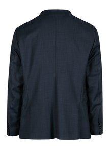 Tmavomodré oblekové slim sako Jack & Jones Premium Thom
