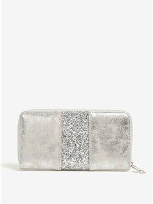 Peňaženka v striebornej farbe Haily's Lina