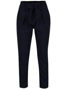 Tmavě modré zkrácené kalhoty Haily´s Milly