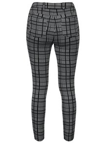 Pantaloni alb & negru cu print Dorothy Perkins