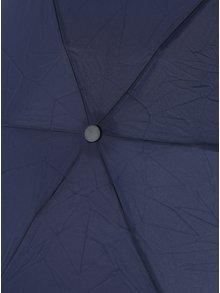 Tmavě modrý skládací deštník Esprit