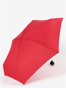 Červený dámský skládací deštník Esprit