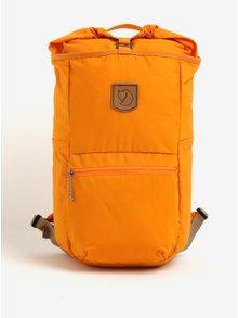 Oranžový voděodolný batoh Fjällräven High Coast 18 l